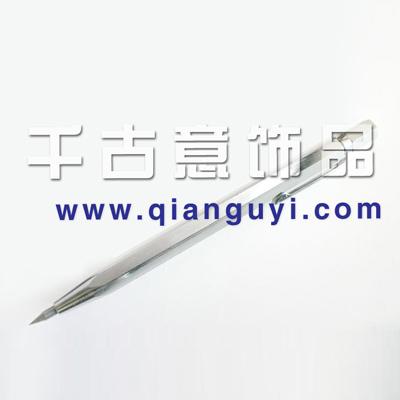 高碳钢打制,可以在玻璃、石头、玉器上万博manbetx苹果APP*雕刻针