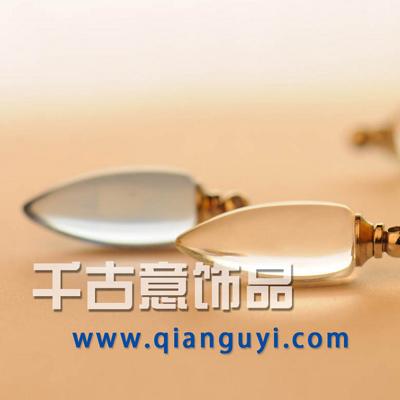 千古意普通水晶 子弹(透明彩色)厂家批发 米雕米上万博manbetx苹果APP大米万博manbetx苹果APP