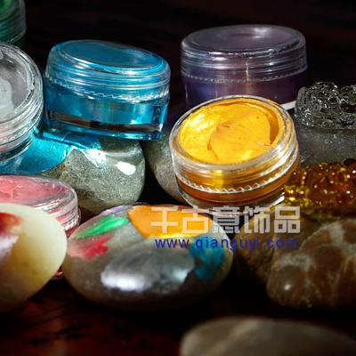 独家推出 环保型闪光上色料 用于水晶玛瑙万博manbetx苹果APP等