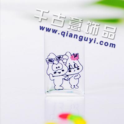 """写真潮语 厂家批发 爆款 流行饰品""""猪猪的爱情""""米上万博manbetx苹果APP"""