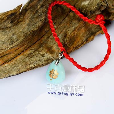 浪漫节日礼物 万博客户端下载手链四叶草 送闺蜜生日礼物女生实用创意礼物