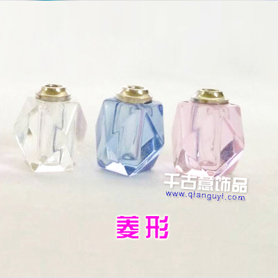 千古意饰品 大米/米上万博manbetx苹果APP 普通水晶菱形 米雕饰品配件批发