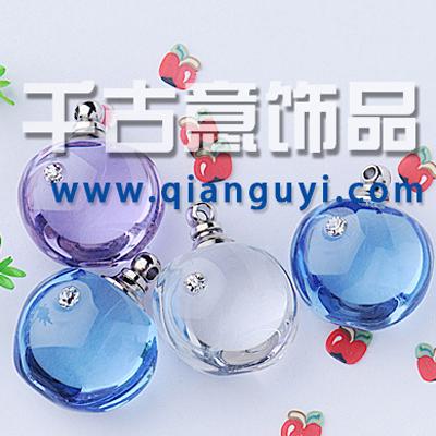 千古意饰品 镶钻水晶【 苹 果】 流行首饰 大米万博manbetx苹果APP