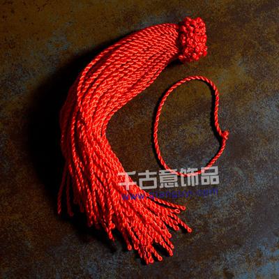 厂家直销 热卖优质辟邪麻花手链红链绳首饰 饰品配件DIY手链